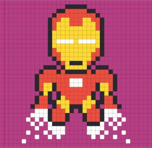iron man en post'it